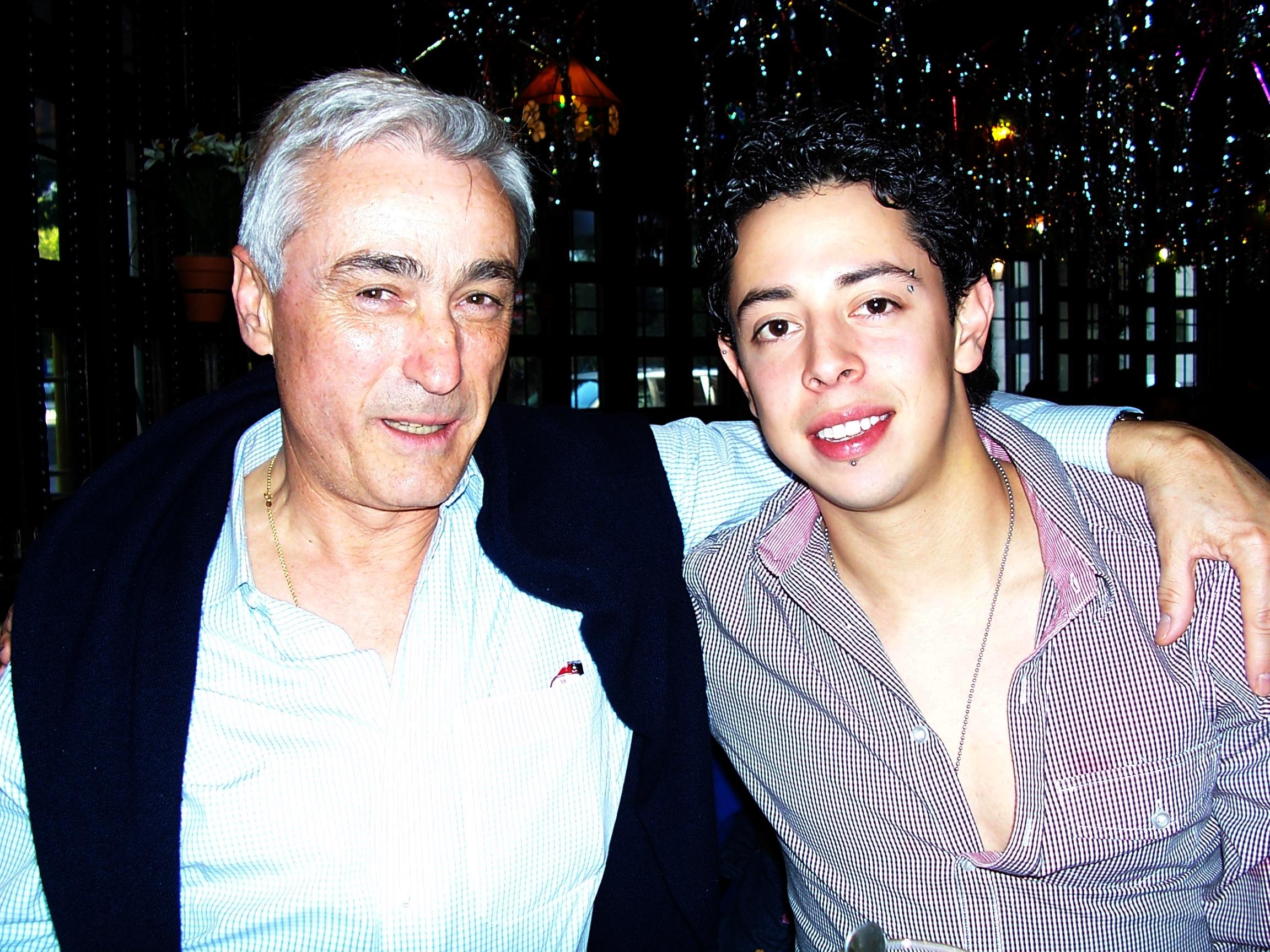 El senador Ignacio Burgos con David Peña hijo, Toto
