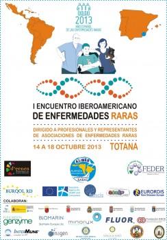 cartel de 1er Encuentro/Congreso Iberoamericano de EERR en Murcia