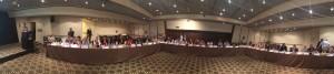 EGA: Reunión General Bianual, 24-25 junio 2014, Haifa, Israel: vista normal del salón principal