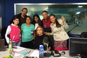 Entrevista a David Peña y otros por Fernanda Tapia para el programa Triple W, de la estación W Radio