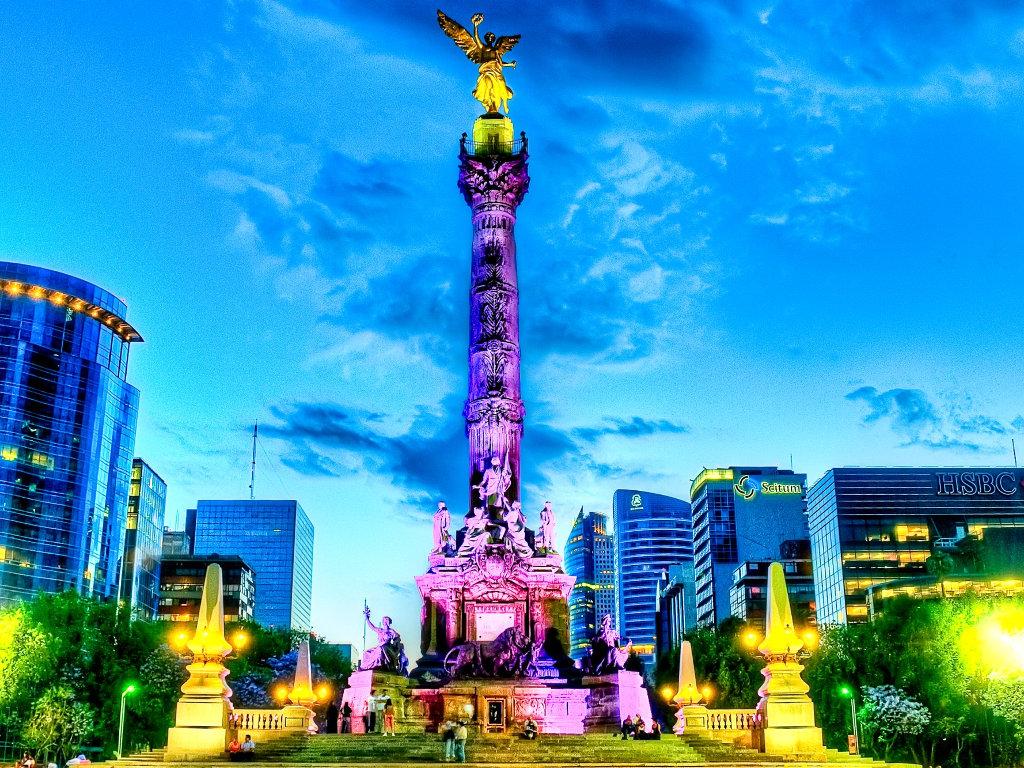 ciudad de méxico, ángel de la independencia, mexico city