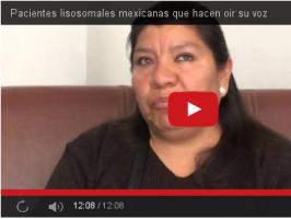 Pacientes lisosomales mexicanas que hacen oir su voz