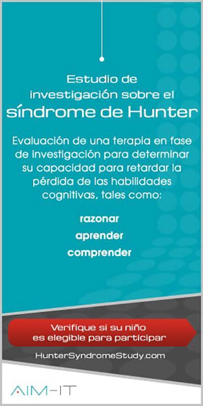 Verifique si su niño Hunter (MPS tipo II) es elegible para participar en estudio de investigación
