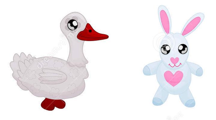 El ganso y el conejo