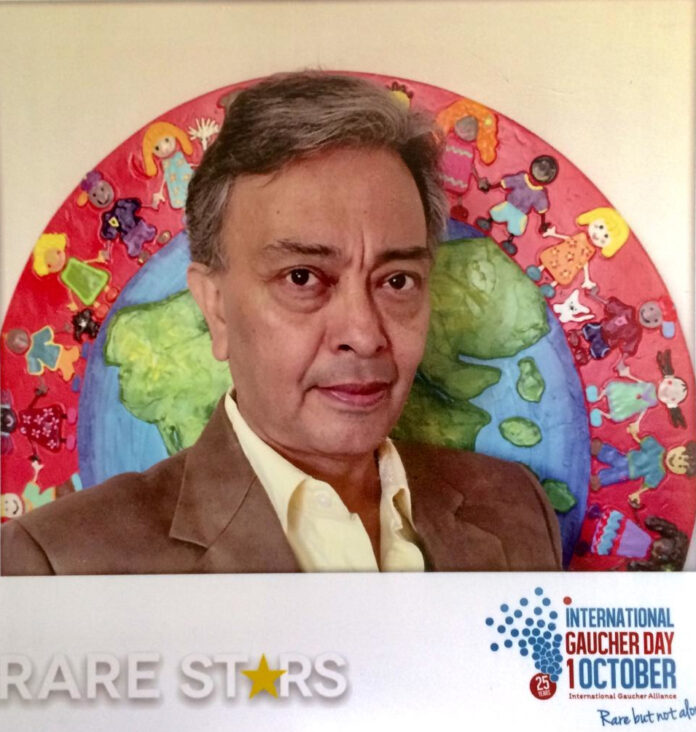 David Peña Castillo, «Rare Star» («Estrella Rara») del International Gaucher Day 2019