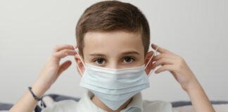 niño protección anticovid mascarilla cubrebocas
