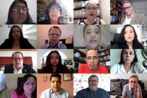 Reunión virtual con la Junta Directiva de la comisión de salud de la Cámara de Diputados Legislatura LXIV para fortalecer el marco jurídico de las EERR