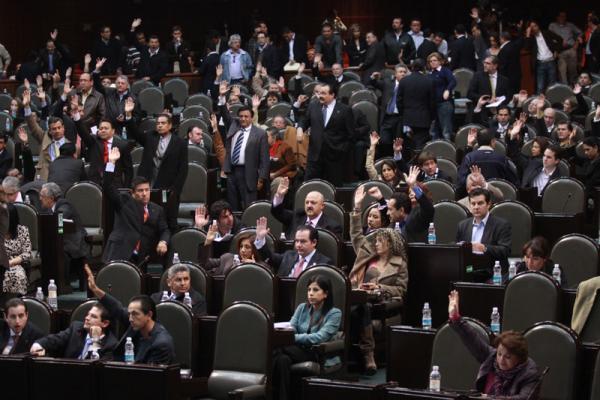 Votación en la Cámara de Diputados